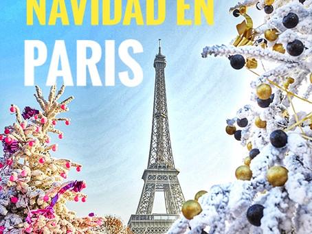 6 maneras fantásticas de celebrar la Navidad en París