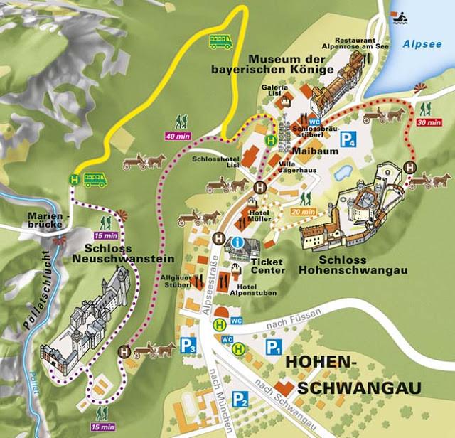 Mapa de los castillos, para que no se pierdan :)