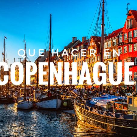 Top de actividades para hacer en Copenhague