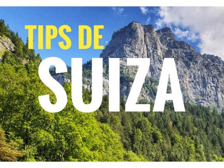Consejos para planear tu visita a Suiza