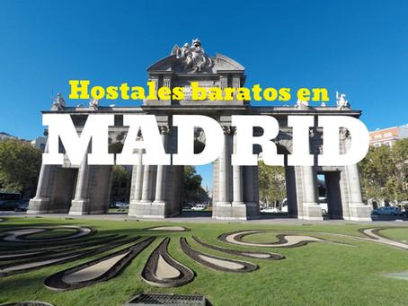 Top 10 de Hostales Baratos de Madrid | Reserva directo en mi sitio!