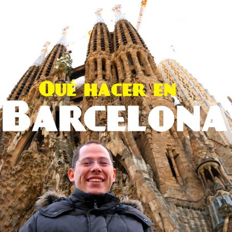 Que hacer en Barcelona 4 días, Guía turística de la ciudad
