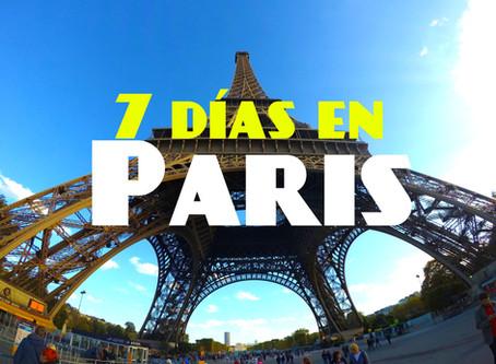 Que hacer 7 días en París