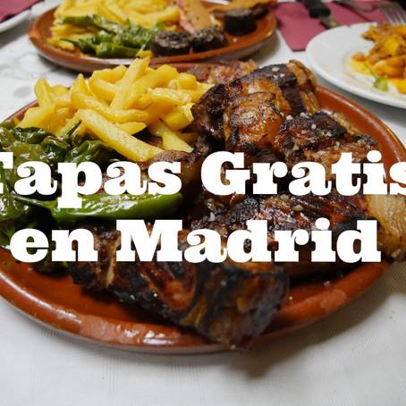 Top 5 de mejores bares y restaurantes para tapear gratis en Madrid