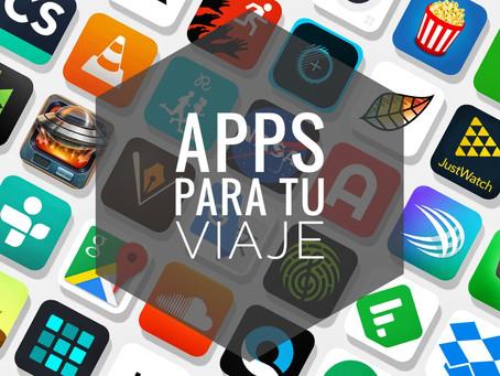 Las 12 apps imprescindibles para tu viaje