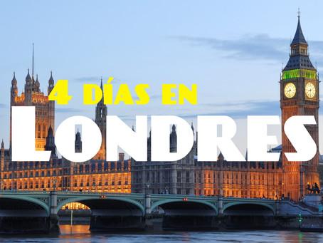4 Días en Londres | Guía turística de la ciudad