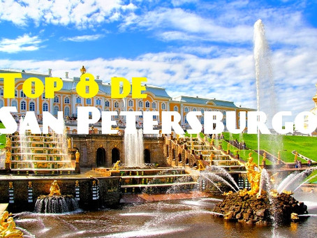 Top 8 de San Petersburgo: los lugares imprescindibles a conocer