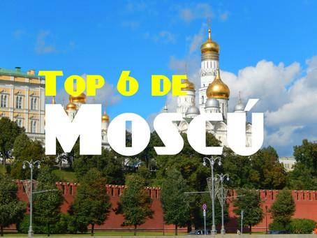 Top 6 de Moscu: los lugares que no puedes perderte