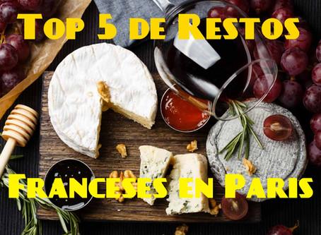 Top 5 de restaurantes Franceses en Paris | Mis Favoritos!