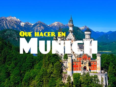 Que hacer en Munich | Oktoberfest | Neuschwanstein