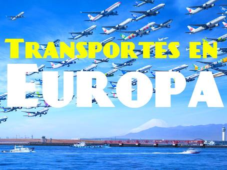 Guía completa transportes en Europa