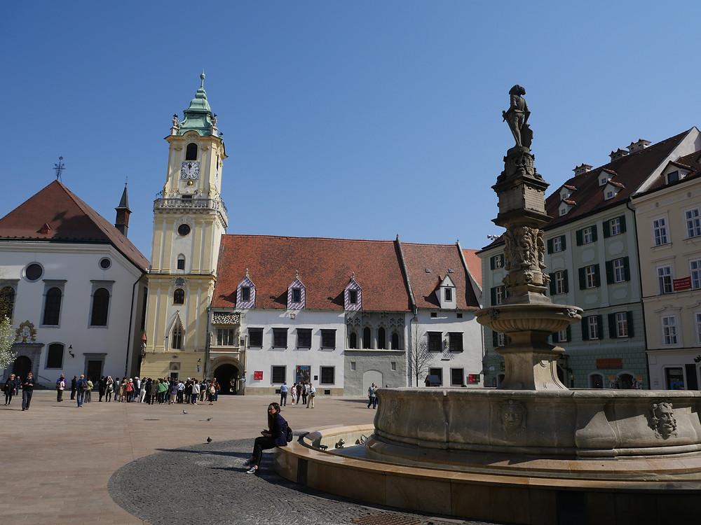 Old Town Square de Bratislava
