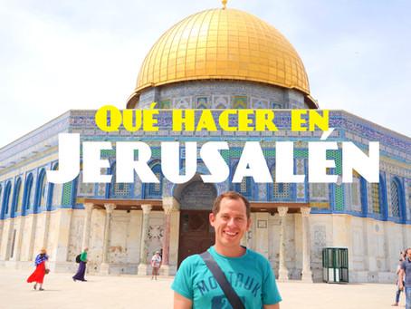 3 Días en Jerusalén | Que hacer en Israel #1