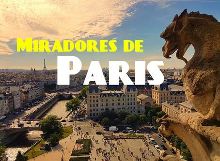 10 miradores espectaculares en Paris