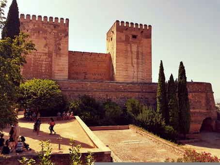Visitando la Alhambra en Granada
