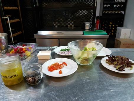 Receta: Tartar de aguacate. Cocinando con mi amigo miguel
