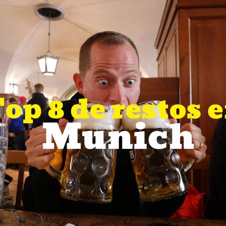 Top 8 de los mejores restaurantes en Munich