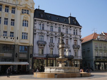 24 horas en Bratislava - Eslovaquia