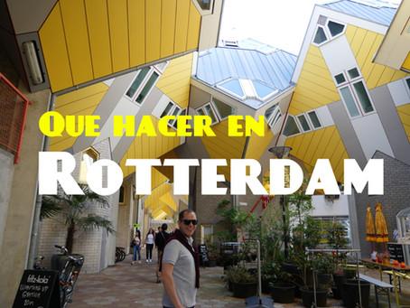 Qué hacer en Rotterdam