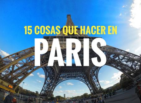 15 cosas que ver en Paris