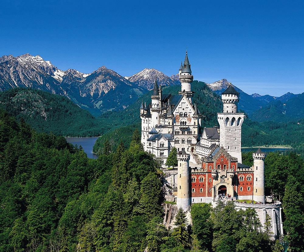 vista del castillo en su totalidad