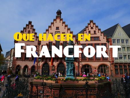 10 cosas que hacer en Francfort