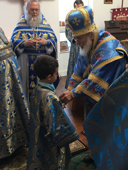 Blessing of a Taper-Bearer