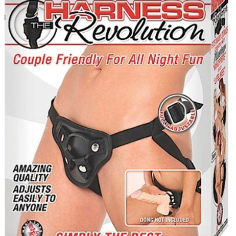 Harness the Revolution - Black