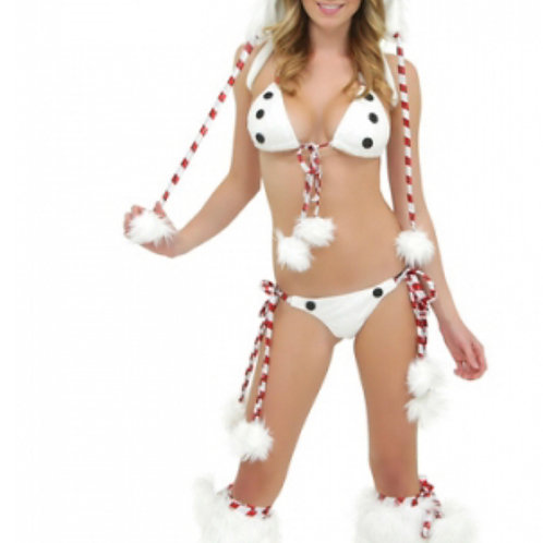 Sexy snow-woman costume(S/M)