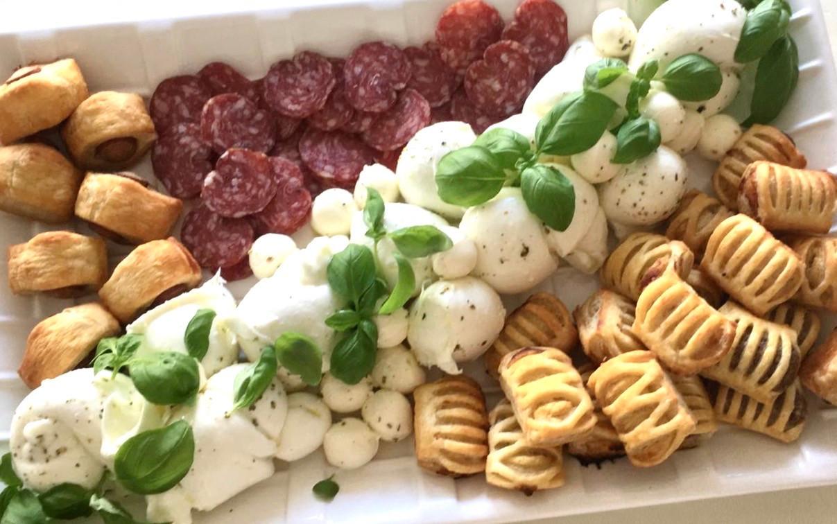 Mozzarella-Platte