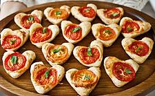 Blätterteig Pizzette