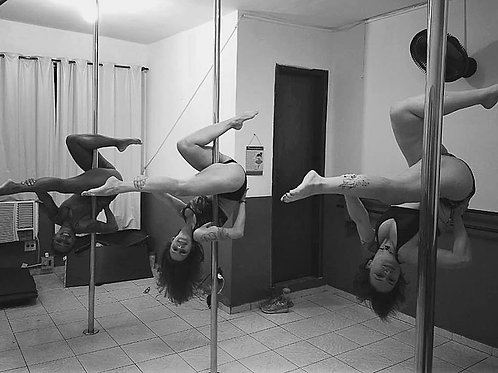 Pole Dance ou Tecido Acrobático 1x na semana