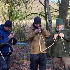 natural cordage making