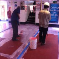 Floor Preparation - Manly Ferry