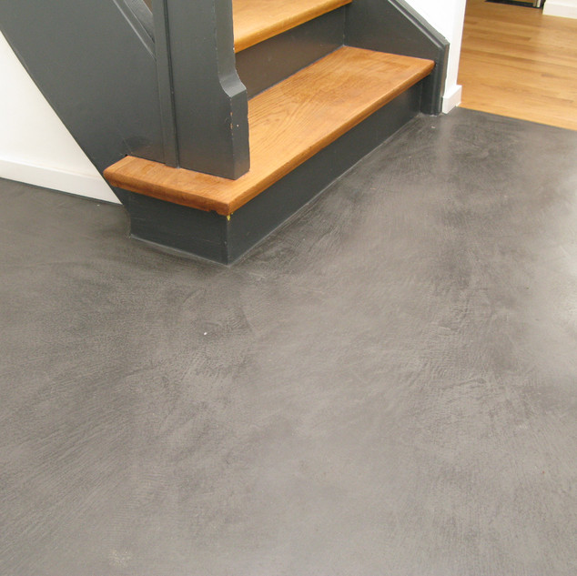 Polished Cement Floor