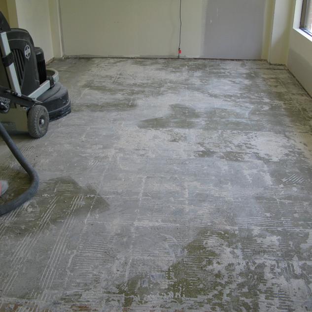 Floor Preparation - Grinding