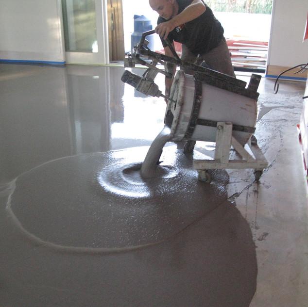 Floor Preparation - Floor Levelling