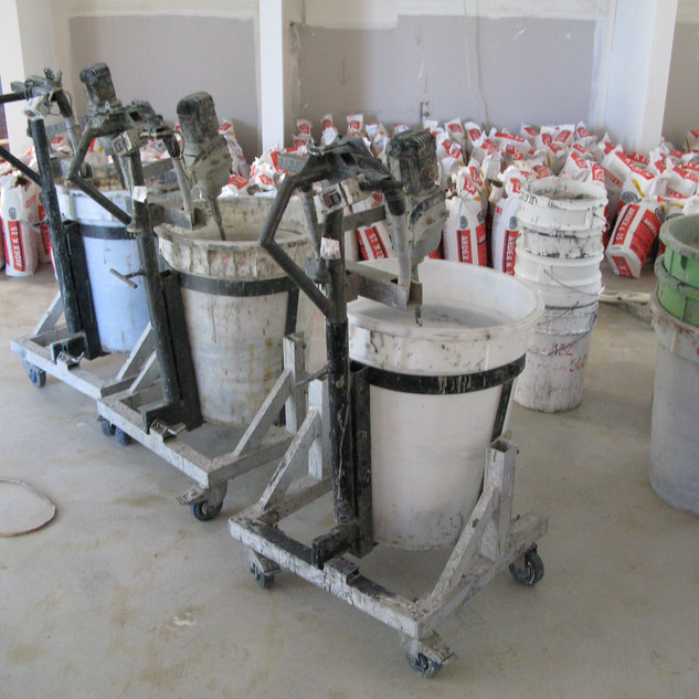 Floor Preparation - Makinex Mixers