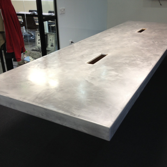 Polished Cement Furniture