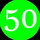 Muffler Man 50 Logo