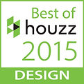 """Best of Houzz 2015 Design"" Button"