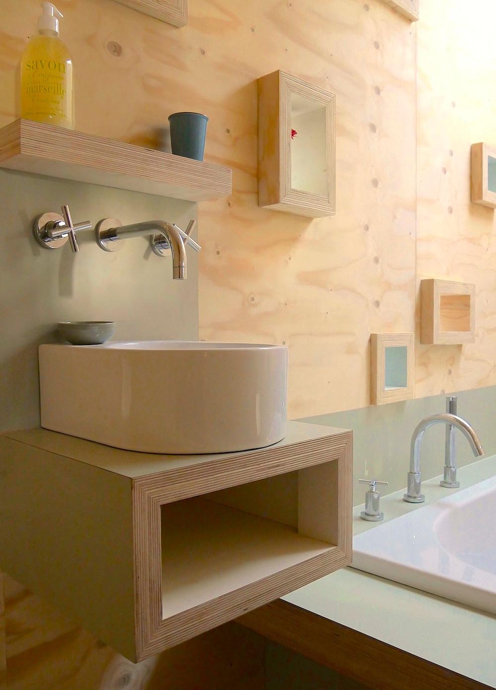 Brockloch Treehouse bathroom detail