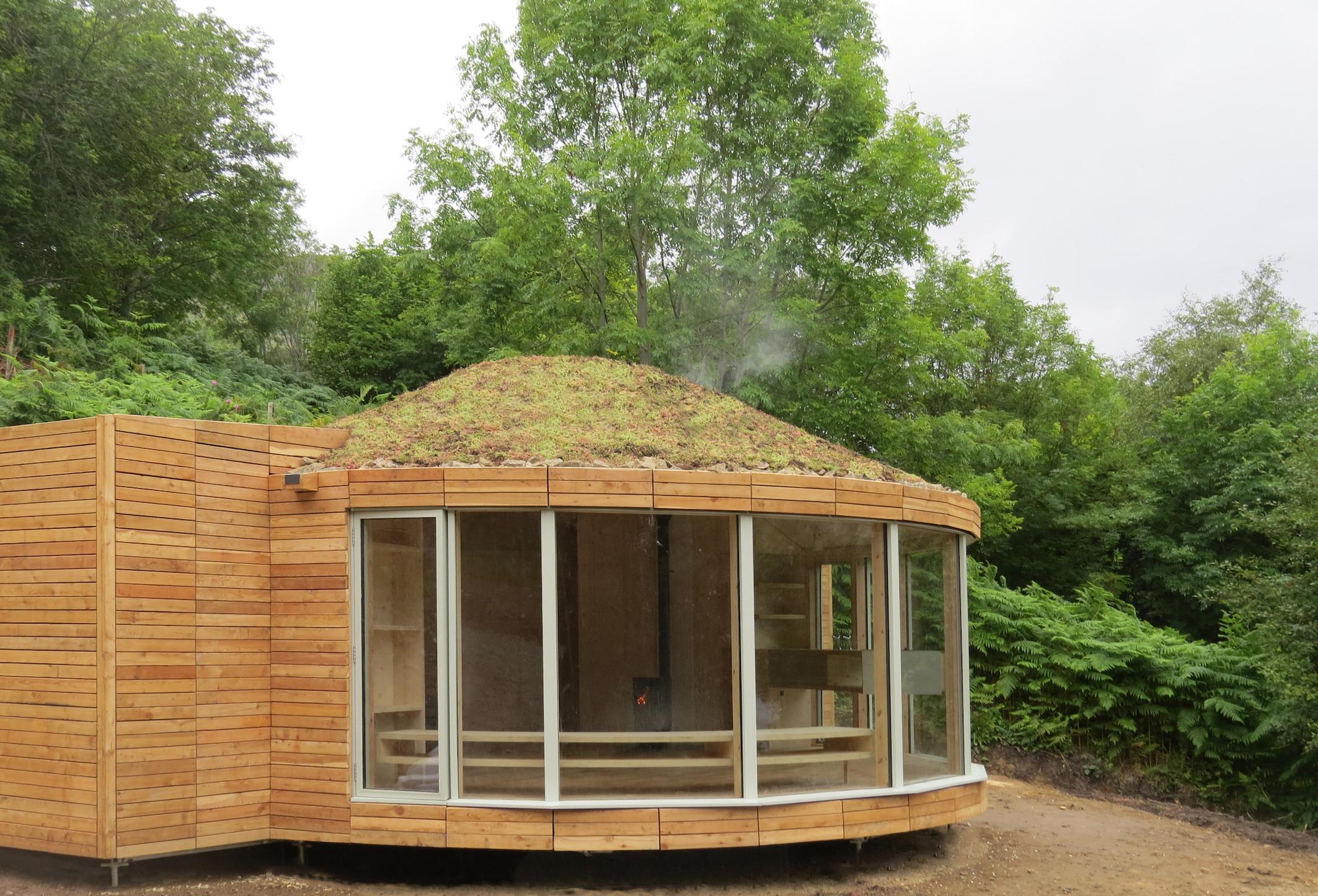 Caberfeidh Yurt Exterior