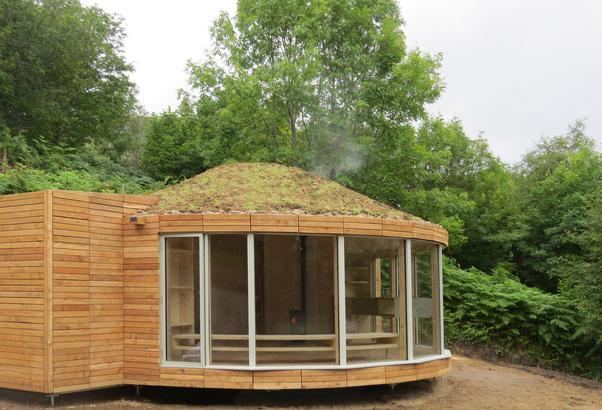 Caberfeidh Yurt Exterior 1