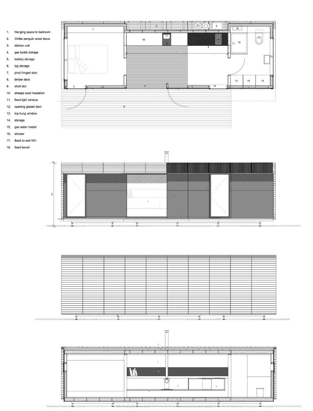 One Bedroom WAVE plan 25m²
