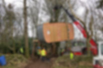 Brockloch Treehouse  Construction