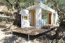 House on Wheels - tiny eco house , Crete