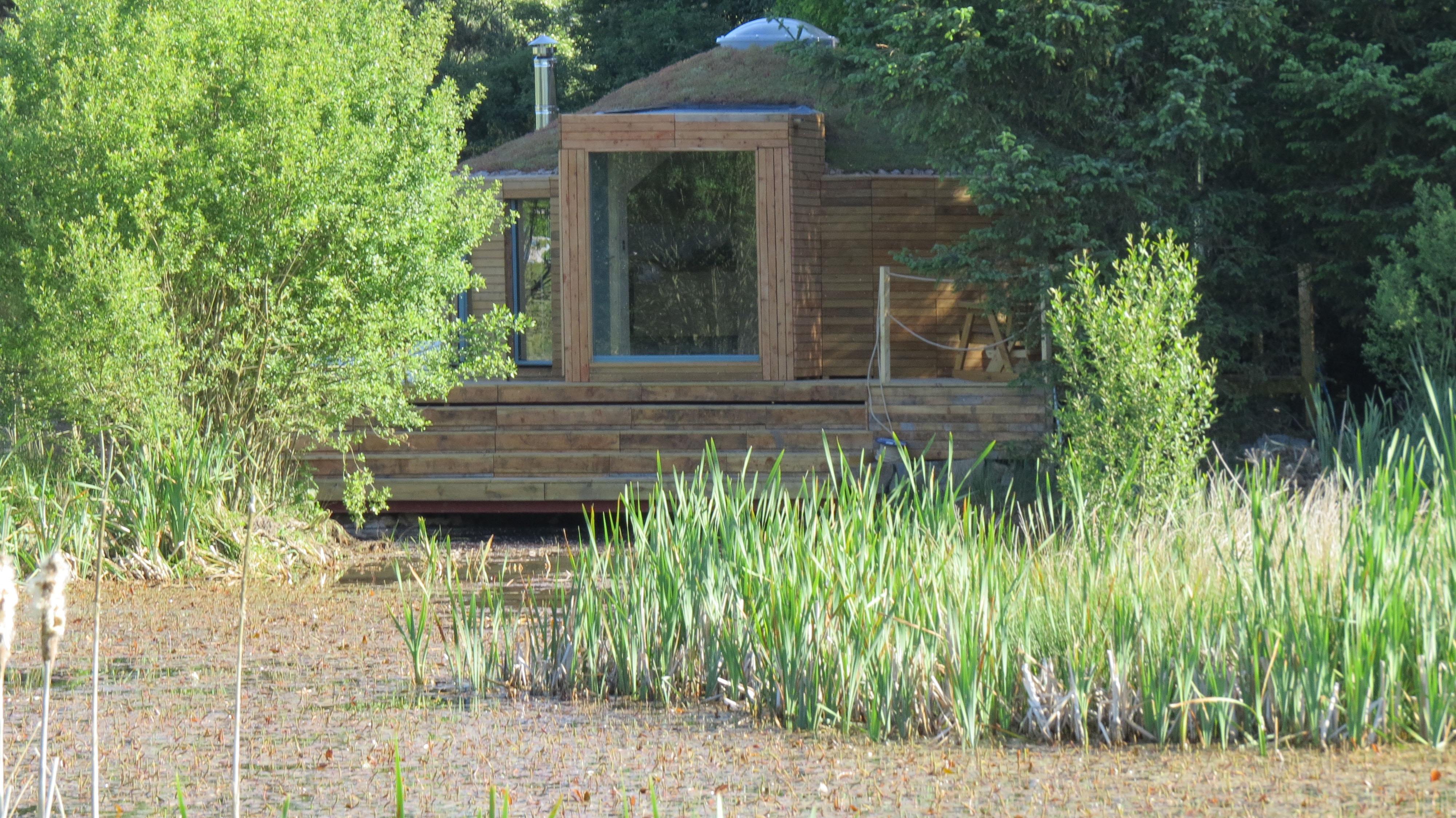 Yurt Exterior 18HR