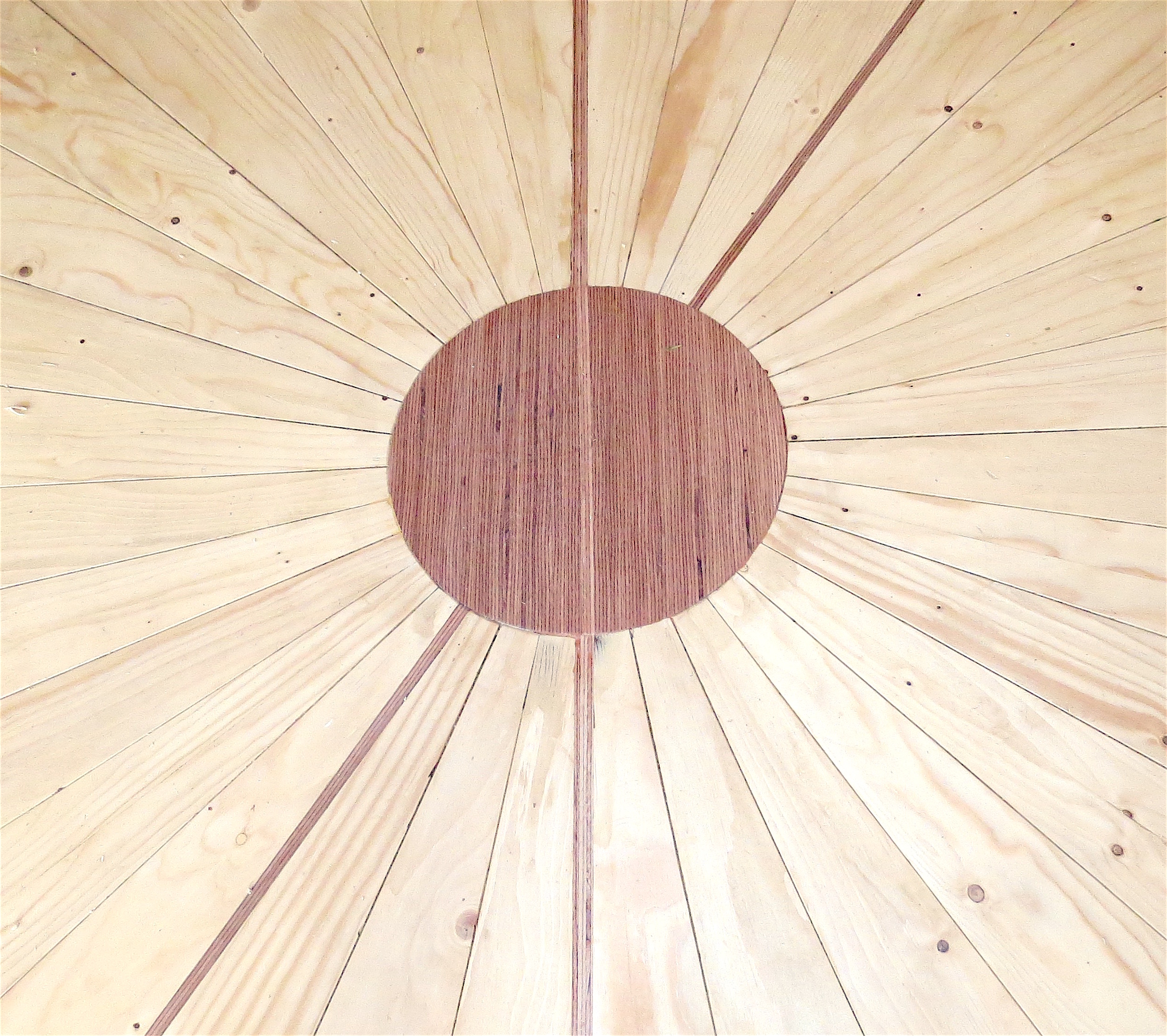 Echo Yurt Floor detail