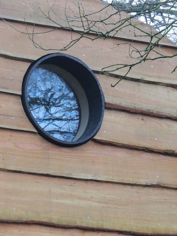 Treehouse window detail